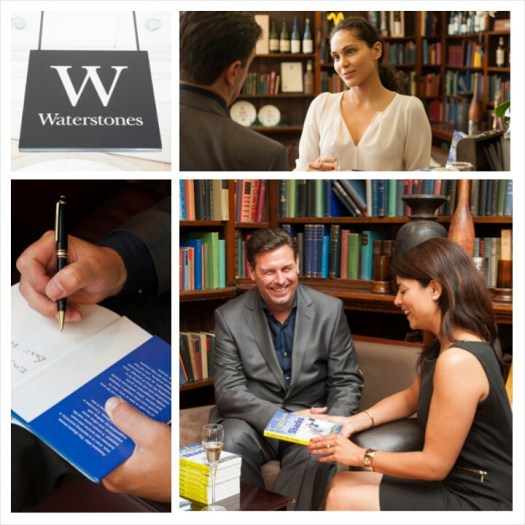book signing at Waterstones Grid C