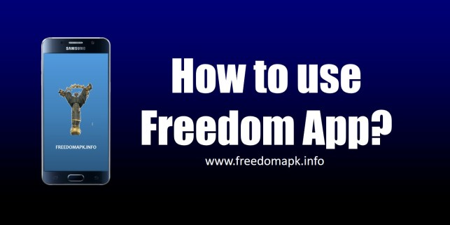 how to use freedom apk officially