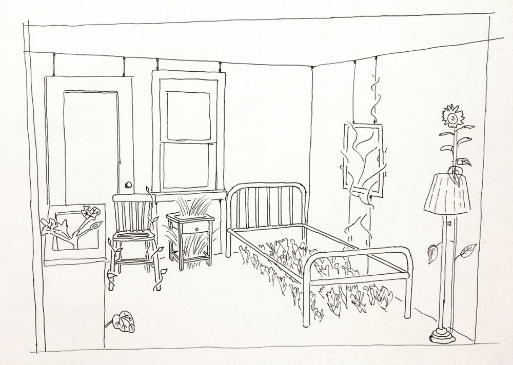 Room to Grow, concept sketch. Freedom Baird