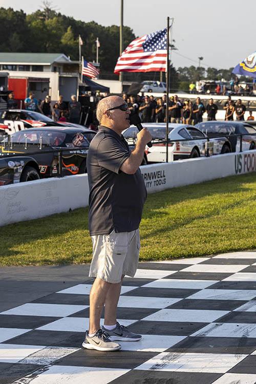 National Anthem Carteret Speedway