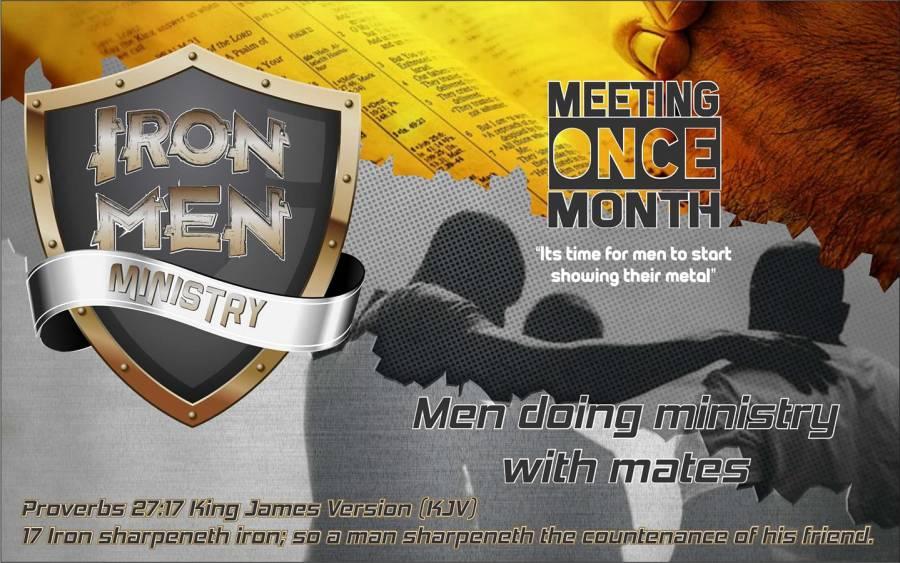 Iron men banner