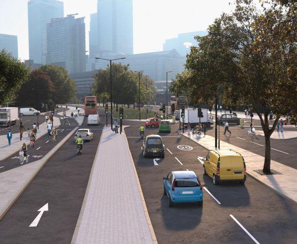 Hackney - West India Dock Road