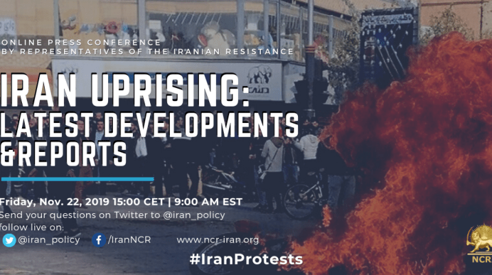 Live Conference Iran Uprising