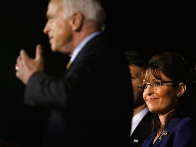 McCain rejects Palin