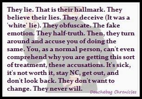 Image result for narcissist believes own lies