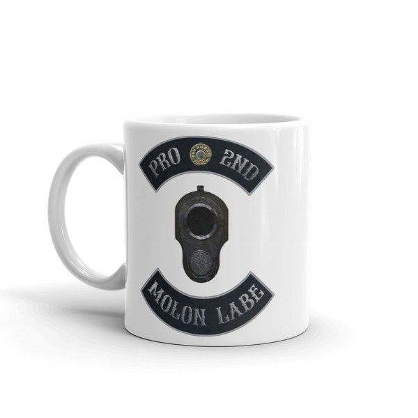 Pro 2nd Amendment - Molon Labe - M1911 11 oz Mug