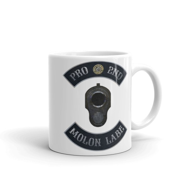 Pro 2nd Amendment - Molon Labe - M1911 11 oz Mug right side