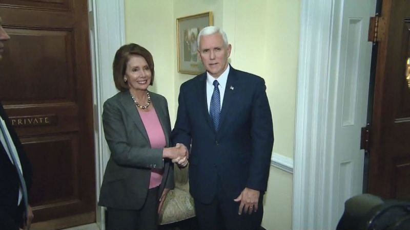 Nancy Pelosi Kicks Mike Pence Out Of His Office