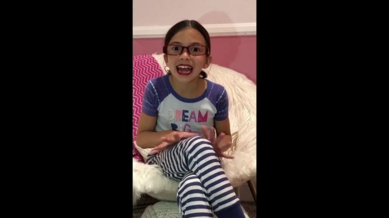 8-Year-Old AOC Impersonator Is Back Again To Rip The Green New Deal [VIDEO]