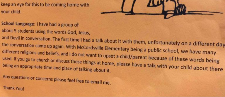Elementary Students Can't Say Jesus or God, but Allah is A-OK