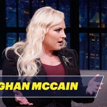 HEATED Debate Erupts When Meghan McCain and Seth Meyers Discuss Ilhan Omar