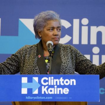 Former DNC Chair Donna Brazile Is Actually On Trump's Side On This One