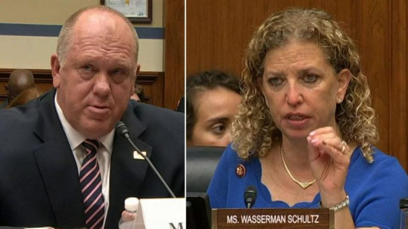 """You Want to Go Toe-to-Toe I'm Here!"" Former ICE Director DESTROYS House Dem Wasserman-Schultz [VIDEO]"