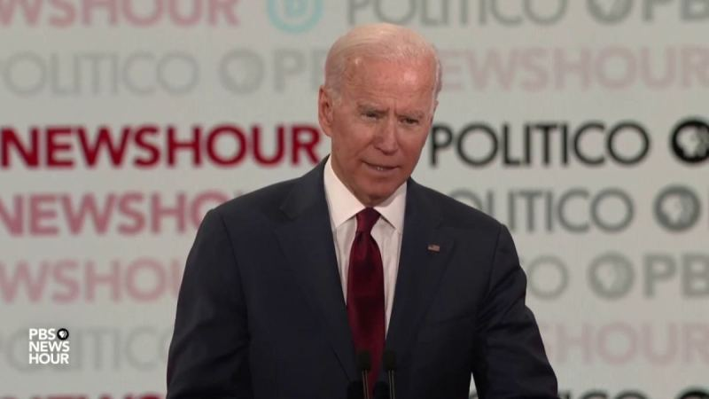 WATCH: Joe Biden Snaps on Report After Asking About Feud with Bernie Sander, Things Get Physical