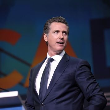 Gruesome Newsom Reopens Churches But Prohibits Christians from Worshiping God Biblically