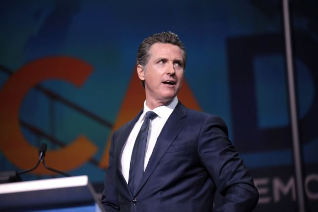 Gruesome Newsom Slashes $80 Million from Veterans Nursing Home, What He Does With The Money Will Have You LIVID