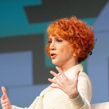 "Kathy Griffin Hospitalized with ""UNBEARABLY PAINFUL"" Symptoms, Blames President Trump"