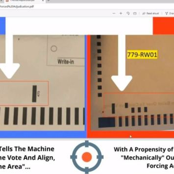 BOMBSHELL! 2020 Ballots Were Modified in Republican Areas Which Lead to Switching Votes