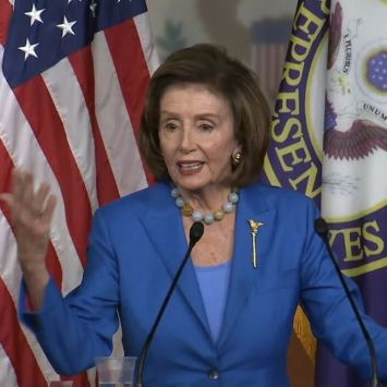Nancy Pelosi Berates the Media for Not Pushing Democrats' Spending Bill