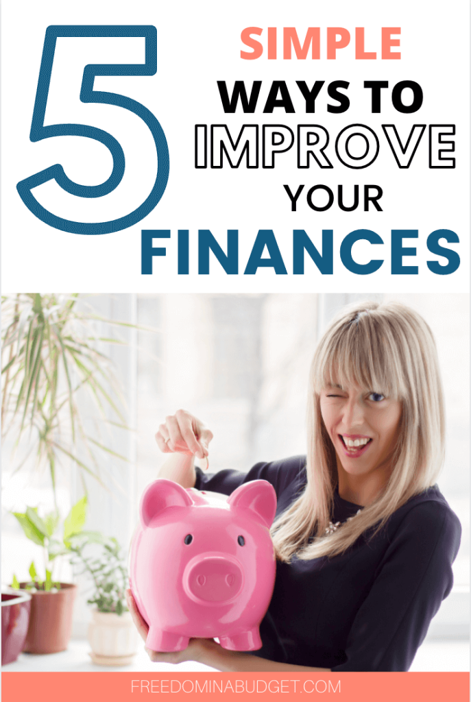 When most people think about improving their finances they think BIG ticket items like saving for retirement, investing, paying cash for a car… things that will take years to accomplish. All of those are very important and great goals, there are also a lot of small ways that add up BIG to help you hit your finances faster. Today I'm sharing 5 things that you can do to improve your finances, 5 things that you can check off your to do list in 1 hour!