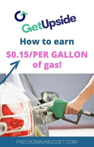 Getupside gas cash back