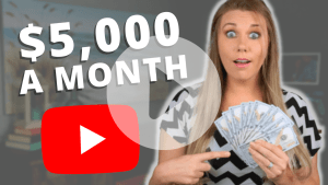 How I Make $5,000 A Month On YouTube