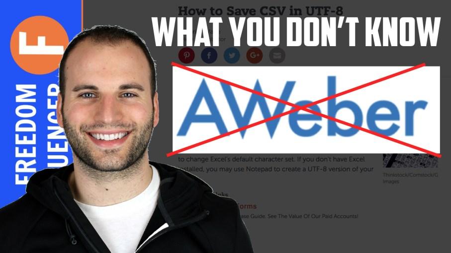 Why I'm leaving Aweber