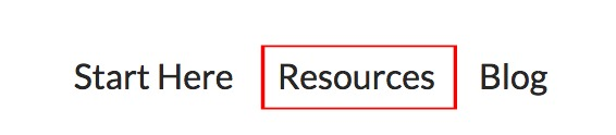 menu resources