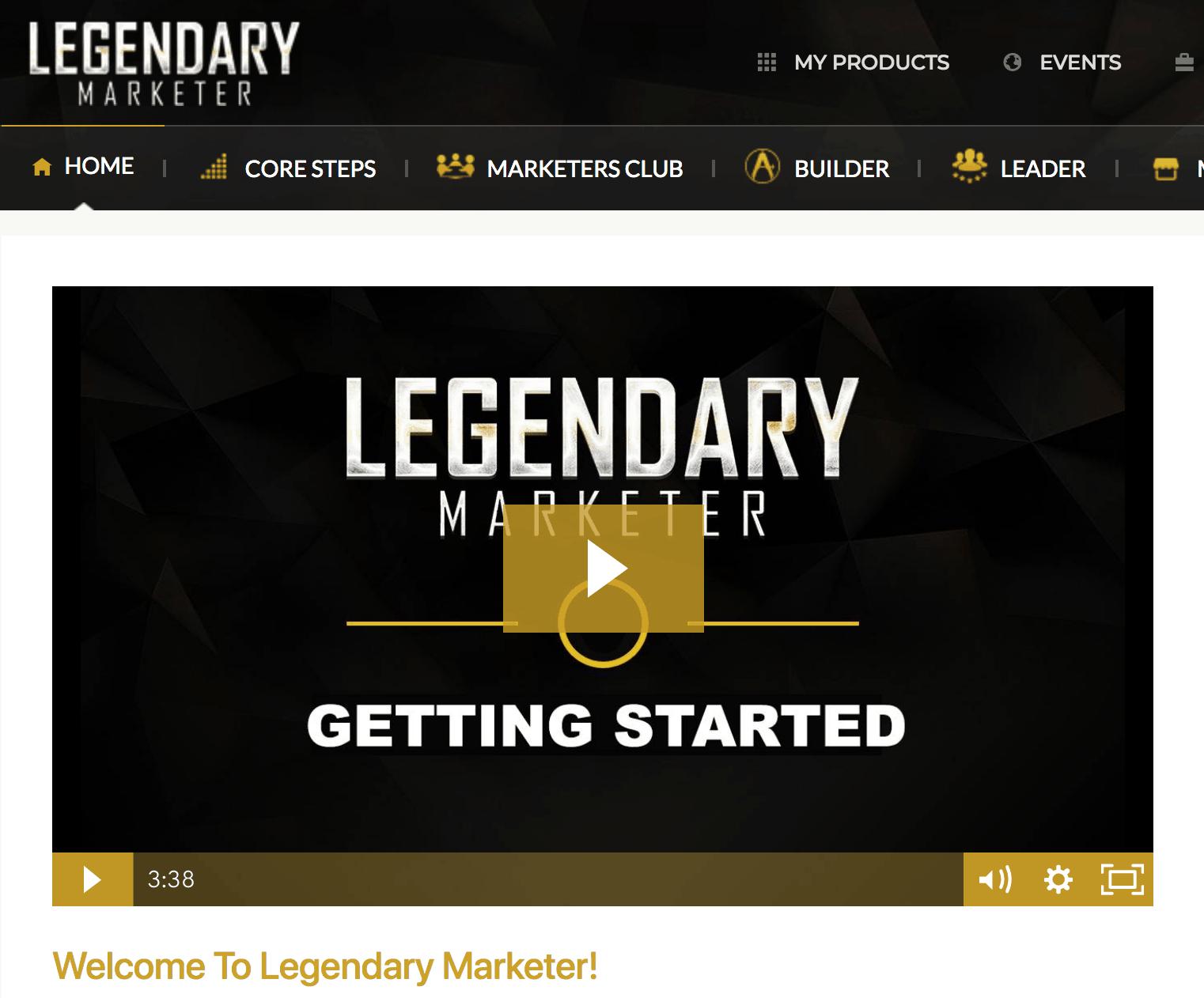 legendary marketer website