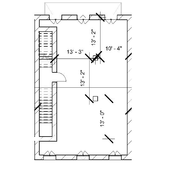 Plan of the second floor