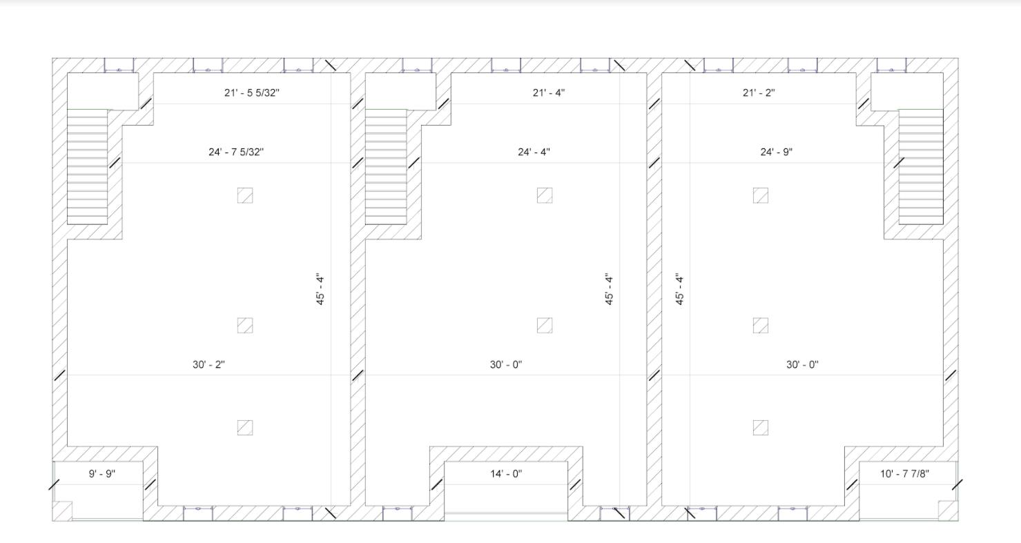 Plan of the third floor