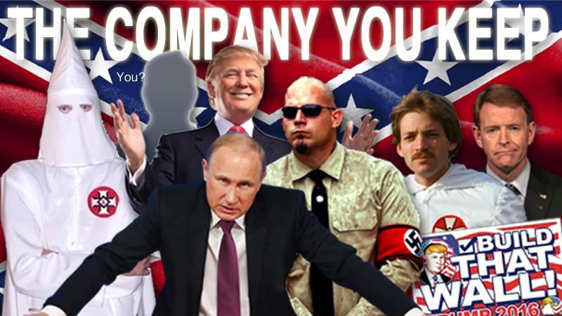 It's the company you keep…