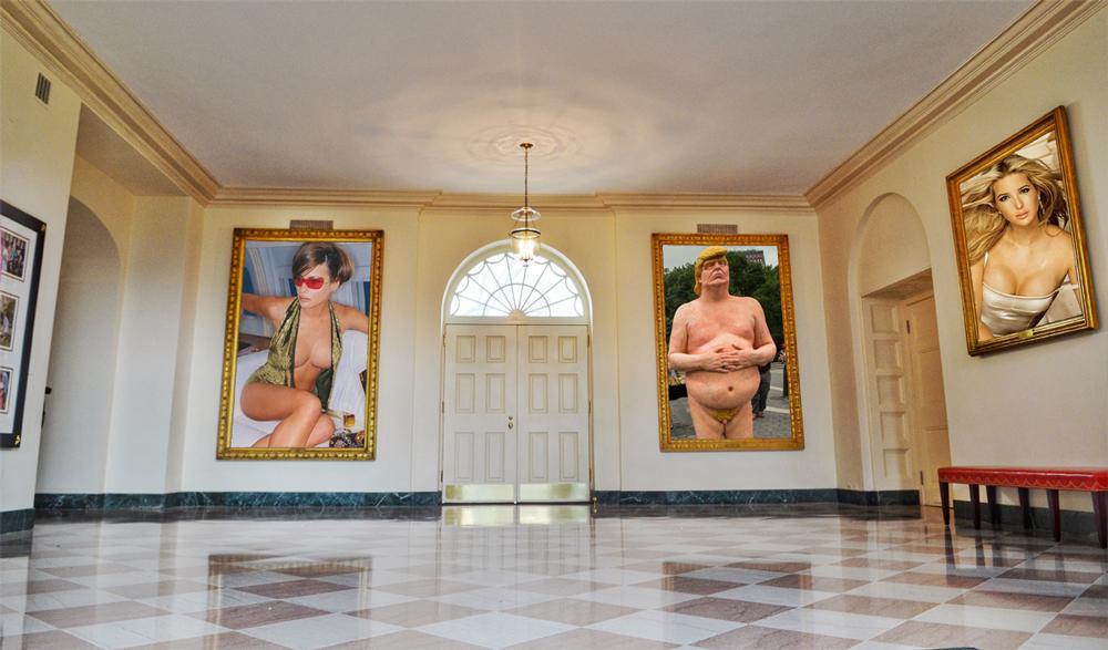 Elegant new White House art revealed