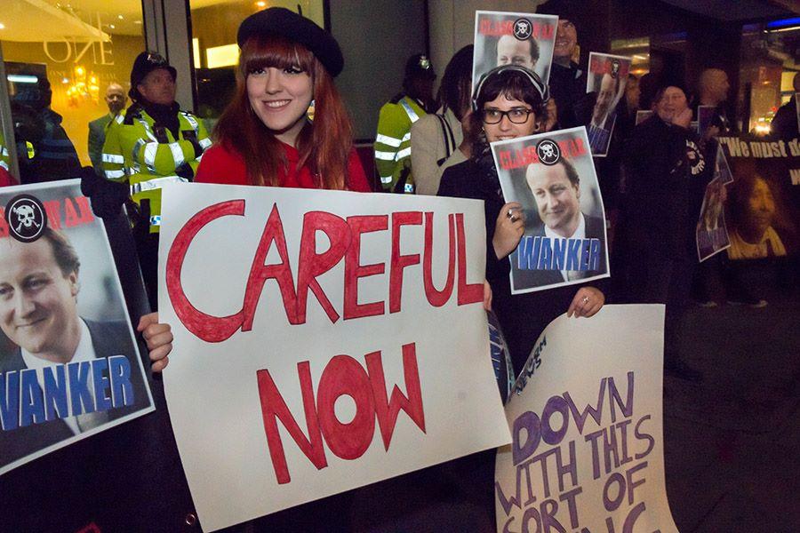 Solidarity Poor Doors Demo