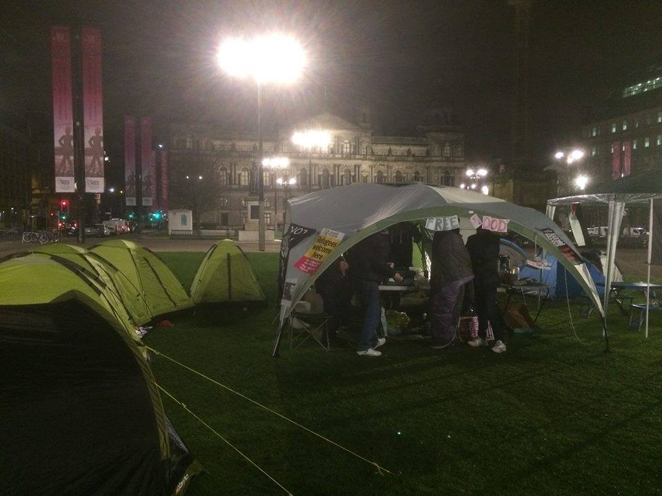 The story of Glasgowu0027s Tent Town and the battle against homelessness and the City Council & The story of Glasgowu0027s Tent Town and the battle against ...