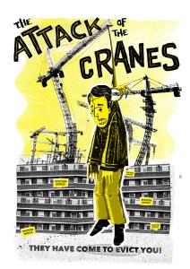attack of the cranes