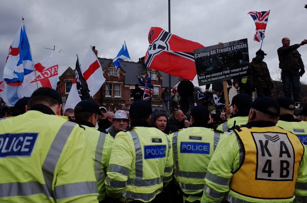 "National Front and their ""Unity"" coalition in Dover"