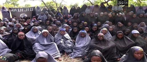School girls kidnapped by Boko Harum