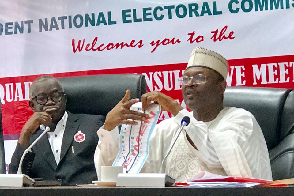 Image result for We've achieved 95% configuration of Smart Card Readers – INEC Chairman
