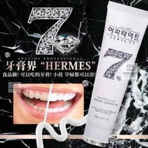 🇰🇷醫美級 號稱韓國HERMES晶鑽7牙膏