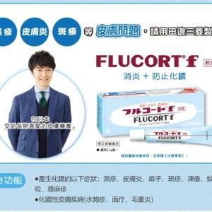 日本🇯🇵田邊三菱製藥Flucort F 濕疹皮炎軟膏 10g