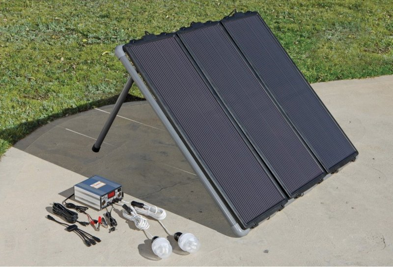Picture of Harbor Freight Solar System