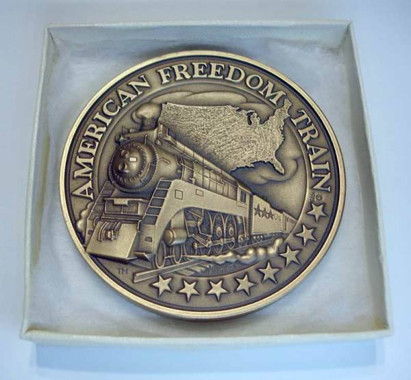 The 1975 - 1976 American Freedom Train