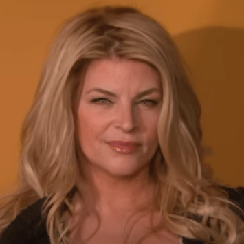 Kirstie Alley Tramples The MSM For Their Reaction To Trump's Recovery