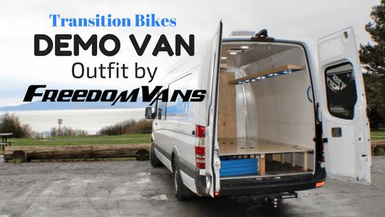 Transition Bikes Demo Van by Freedom Vans