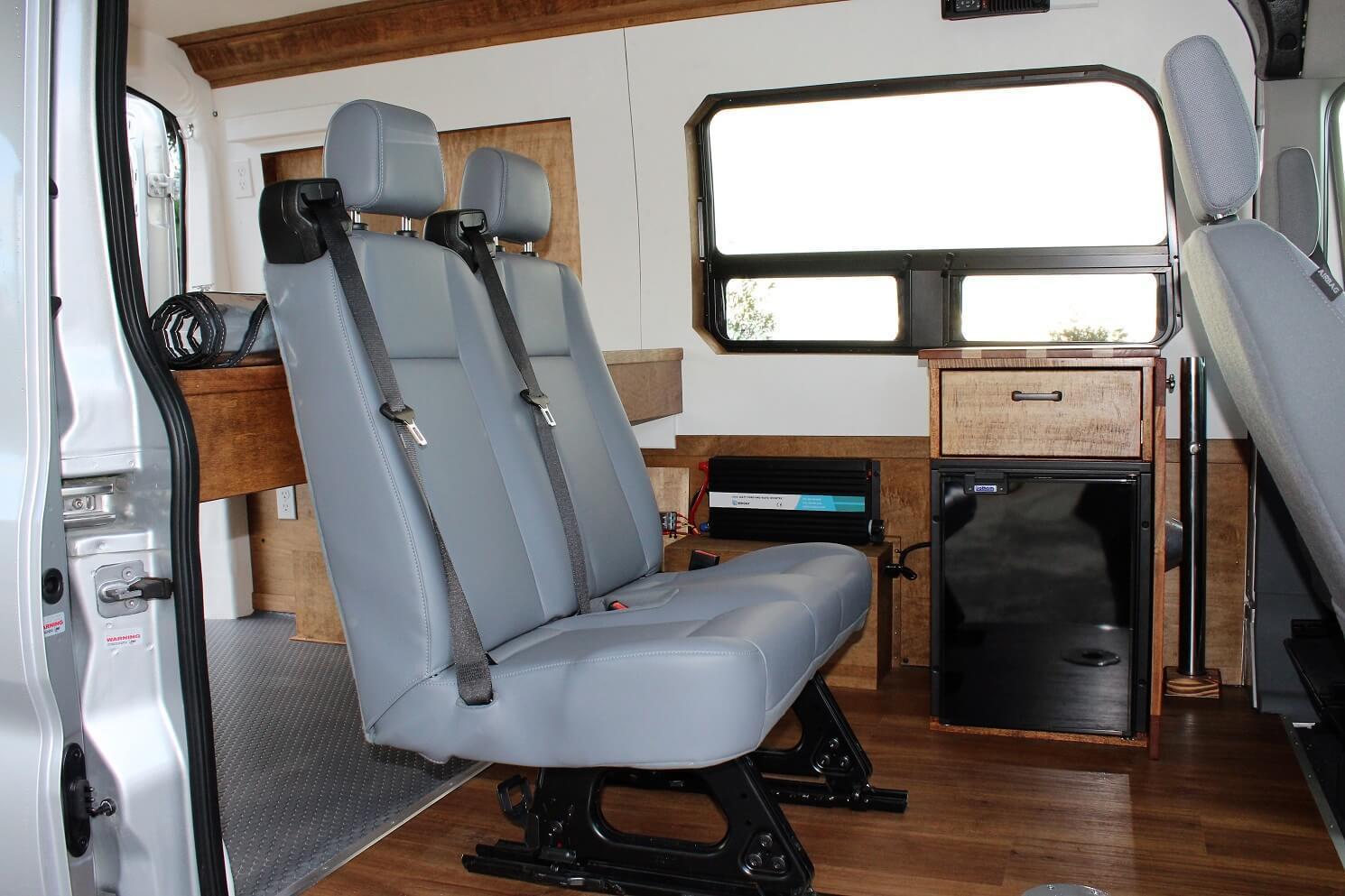 Land Yacht Ford Transit Van Conversion Freedomvans