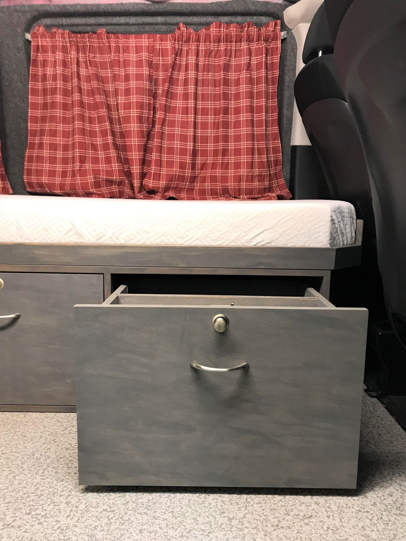 Customized van drawer