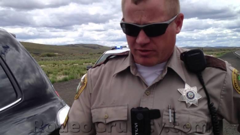 Deputies Caught Dumping Name Tags