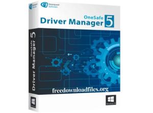 OneSafe Driver Manager Pro Crack