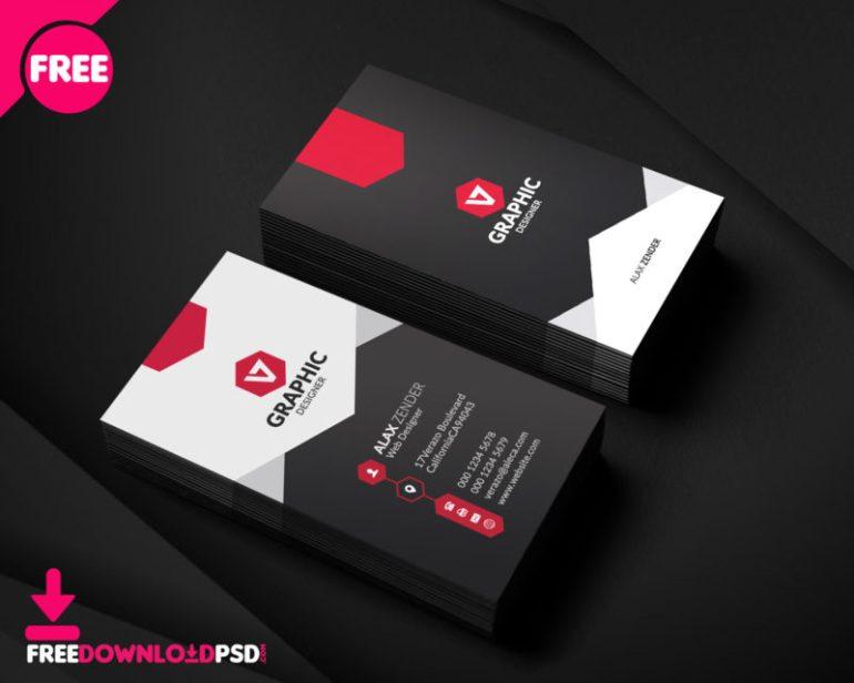 Free Download Designer Business Card